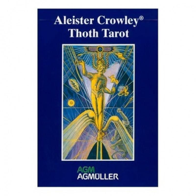 Карты Таро Tarot Cards Aleister Crowley Tarot - De Luxe/Таро Тота Алистера Кроули - De Luxe, AGM