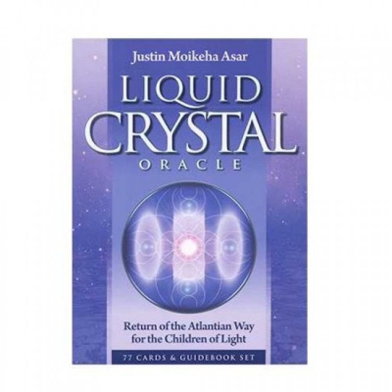 Карты Таро Liquid Crystal Oracle/Жидкий кристалл оракул, USG - 77 карт
