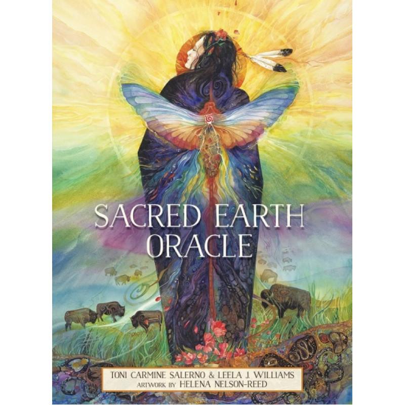 Карты Таро Sacred Earth Oracle/Оракул Запрещённая Земля - Blue Angel