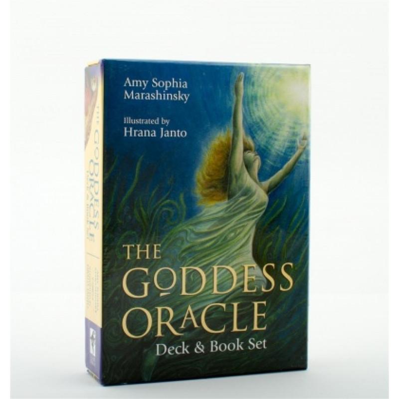 Карты Оракул Oracle cards The Goddess / Book Set/Оракул Богинь, набор с книгой - USG