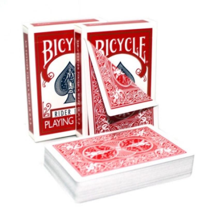 Карты Bicycle с двойной рубашкой (красная/красная)