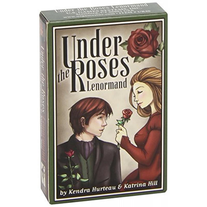 Карты Таро Under the Roses/Оракул Ленорман Под Розами, USG