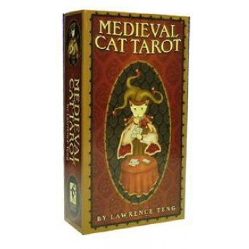 Карты Таро Tarot cards Medieval Cat/Средневековое таро Кошек - USG
