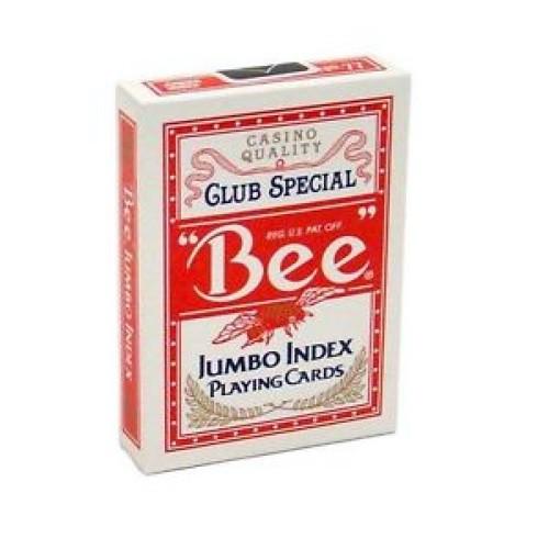 Карты Bee красные - крупный индекс (казино Кристалл)