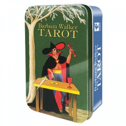 Карты Таро Barbara Walker Tarot in a Tin/Барбара Уолкер таро в жестяной коробке, USG