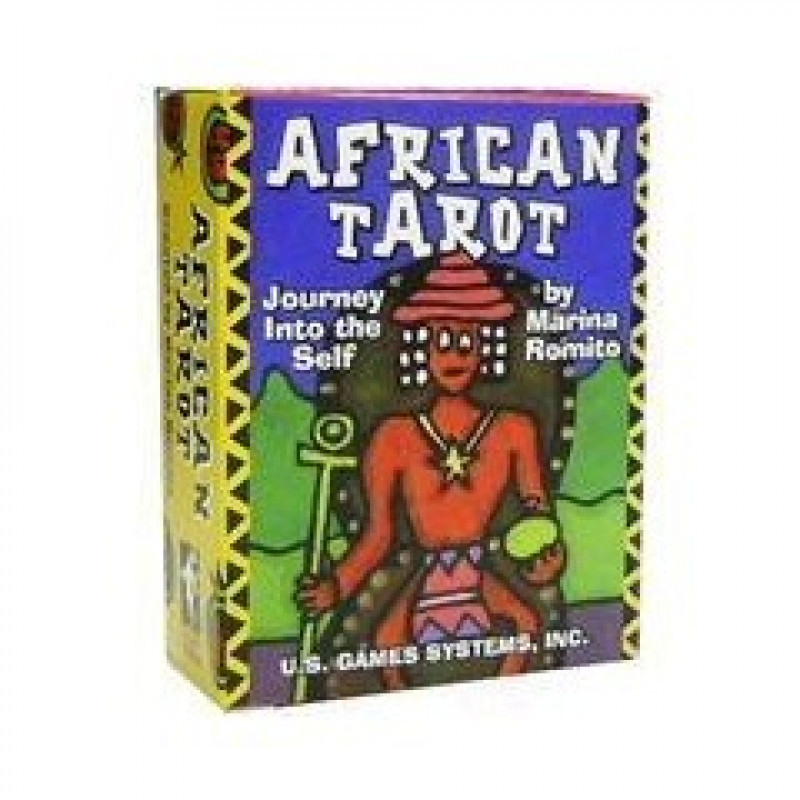 Карты Таро Tarot Cards African/Африканское таро