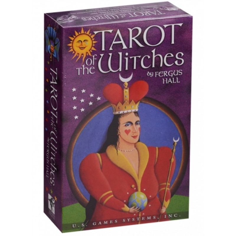 Карты Таро Tarot of the Witches/Таро Ведьм Premier Edition - USG