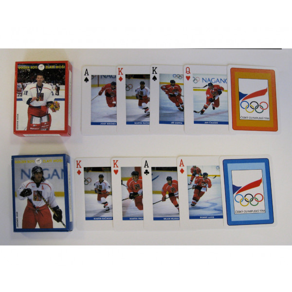 Коллекционные карты Олимпийская сборная Чехии, 55 листов