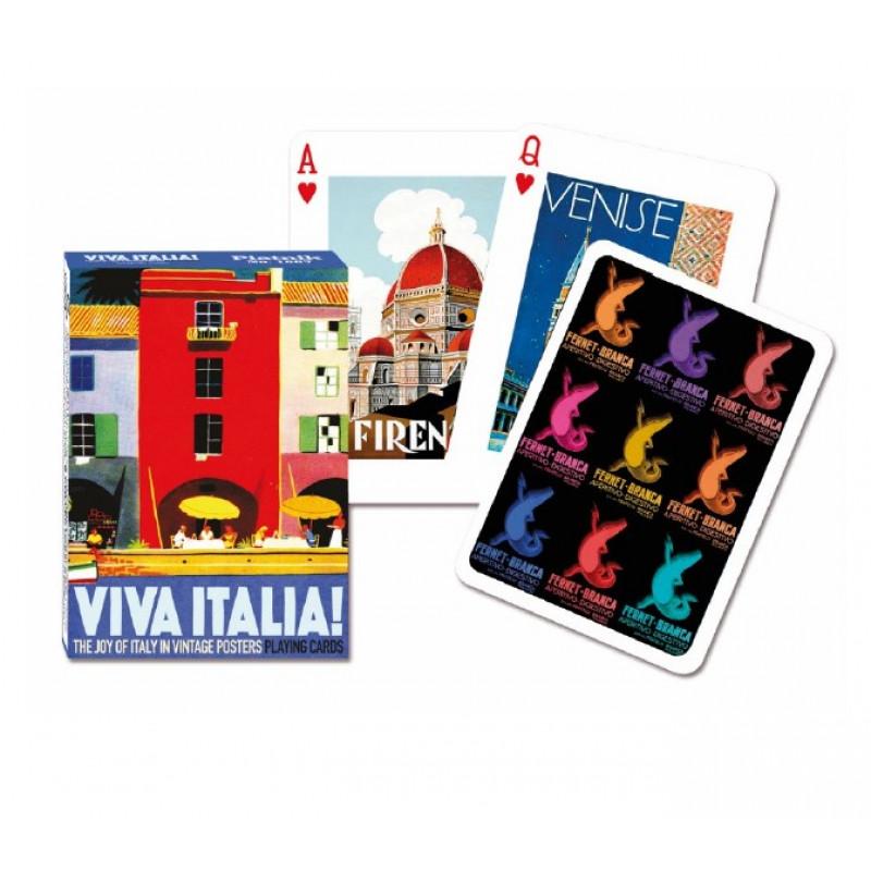 Коллекционные карты Вива Италия, 55 листов