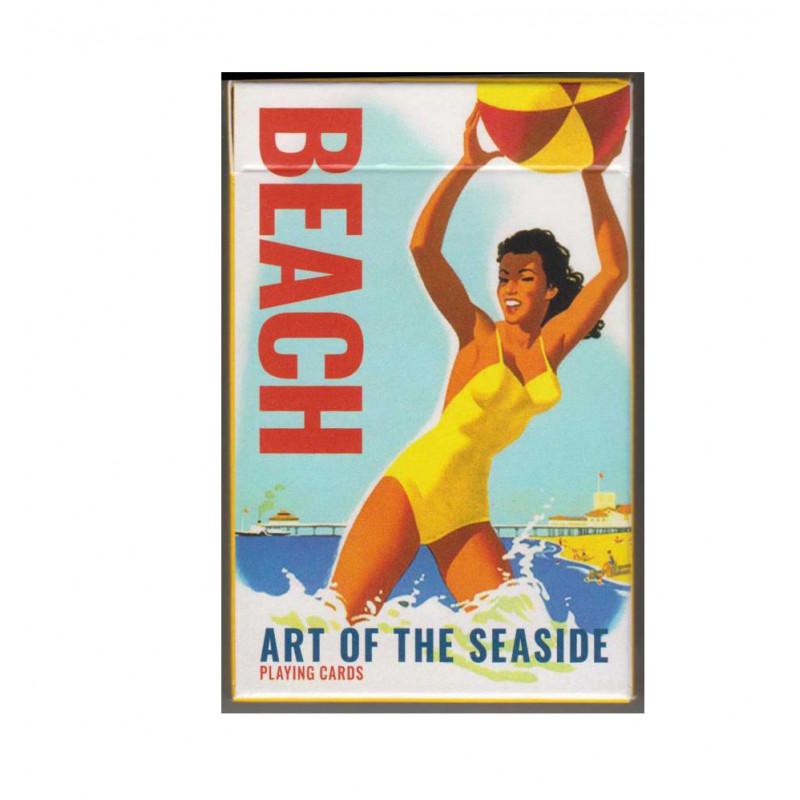 Коллекционные карты Пляжное искусство 55 листов