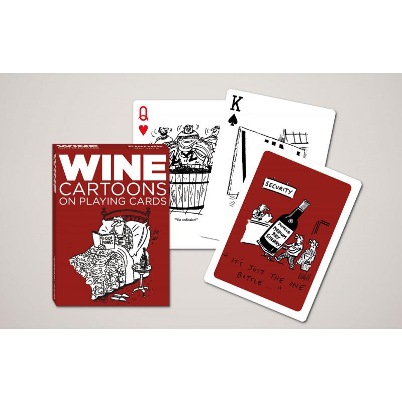 Коллекционные карты Карикатуры. Вино, 55 листов