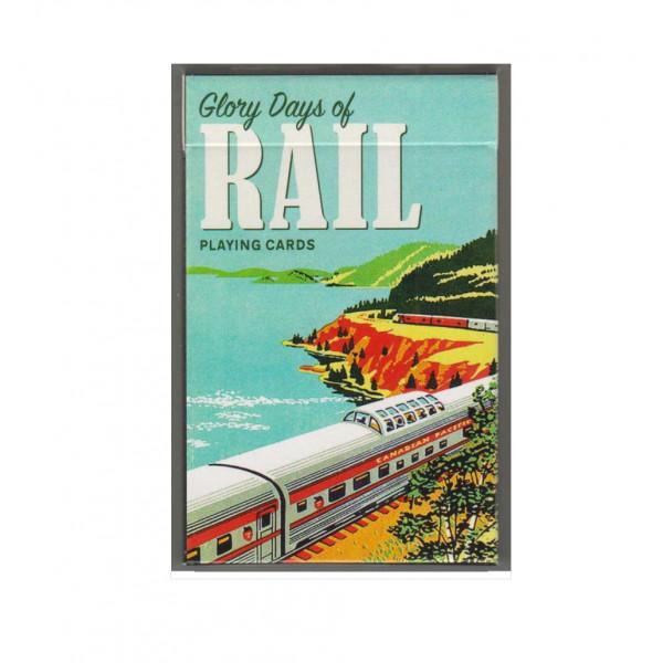Коллекционные карты Железная дорога 55 листов