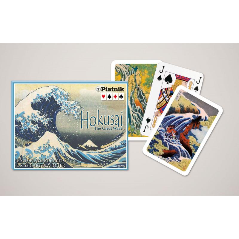 Карточный набор Hokusai. The Great Wavé (2х55 листов)