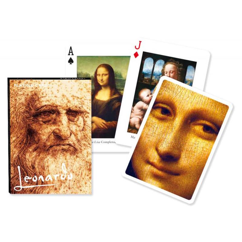 Коллекционные карты Леонардо, 55 листов