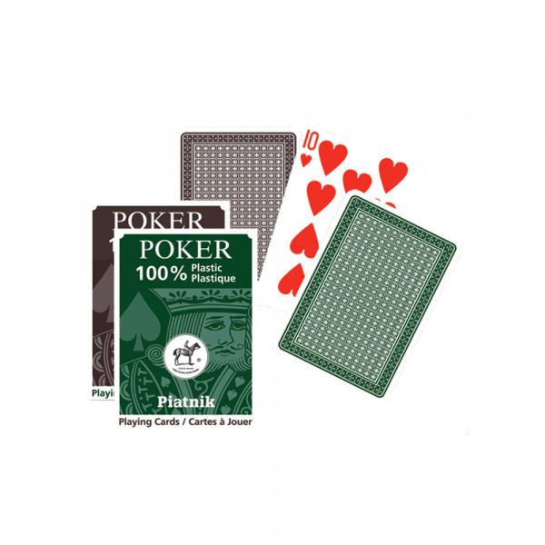 Игральные карты 100% Пластик-Покер, 55 листов